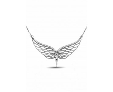 Gümüş Melek Kolye - N140001