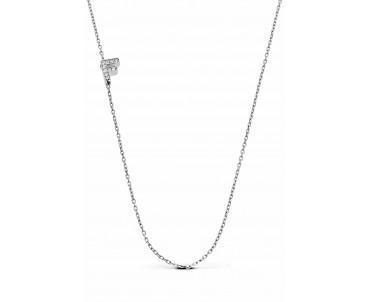 Gümüş F Harfi Kolye - N141701
