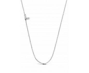 Gümüş L Harfi Kolye - N142201