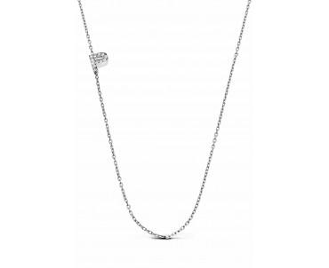 Gümüş P Harfi Kolye - N142601