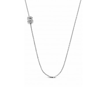 Gümüş S Harfi Kolye - N142801