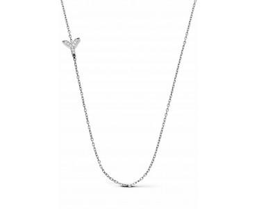 Gümüş Y Harfi Kolye - N143201