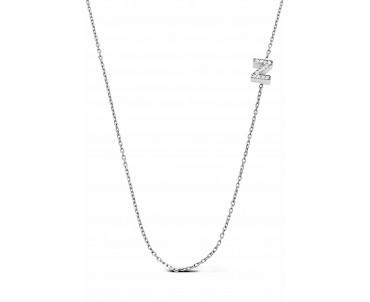 Gümüş Z Harfi Kolye - N143301
