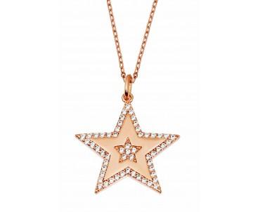 Gümüş Yıldız Kolye - N147501