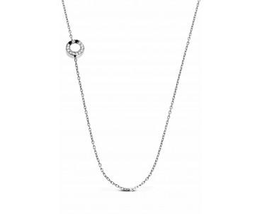 Gümüş Ö Harfi Kolye - N153101