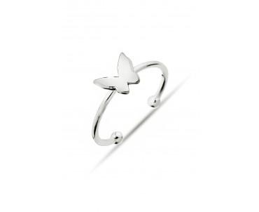 Gümüş Kelebek Yüzük - Y013501