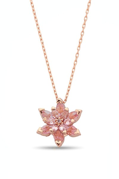 Gümüş Pembe Lotus Çiçeği...