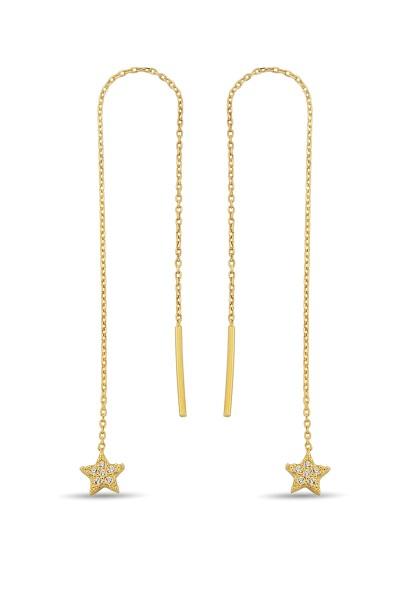 Yıldız Figürlü Gümüş Altın...