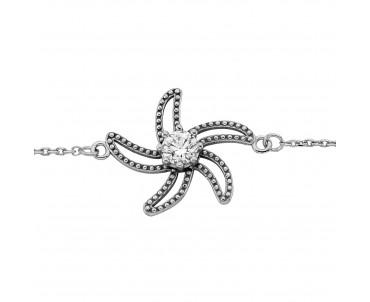 Deniz Yıldızı Gümüş Bileklik