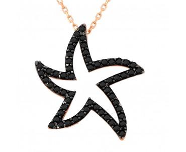 Siyah Taşlı Deniz Yıldızı...
