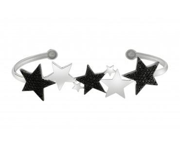 Yıldız Motifli Gümüş El...