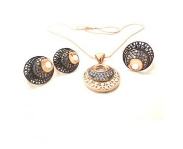 Çintemani Nazarlık Gümüş Set