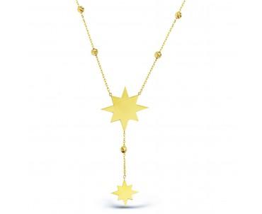 14 Ayar Altın Kutup Yıldızı...